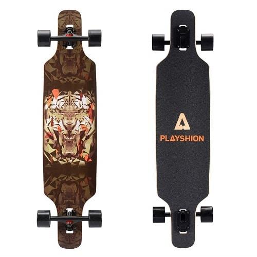 Playshion 39 Inch Cruiser Longboard Skateboard
