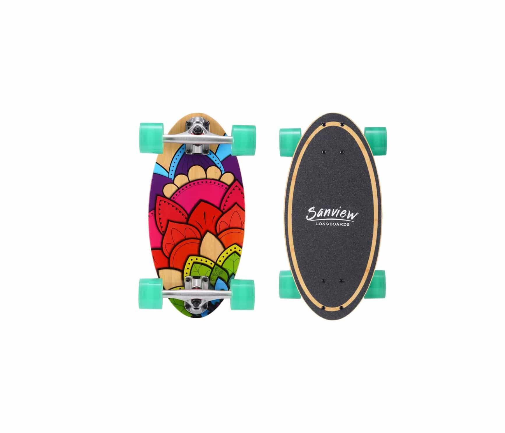 Slendor Longboard Skateboard-Recovered