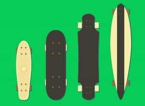 cheap skateboard styles