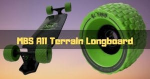 mbs all terrain longboard