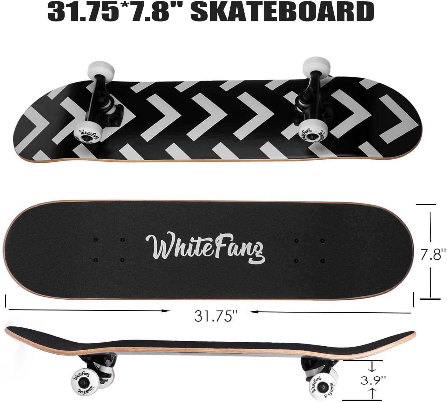 WhiteFang Complete SkateboardsWhiteFang Complete Skateboards