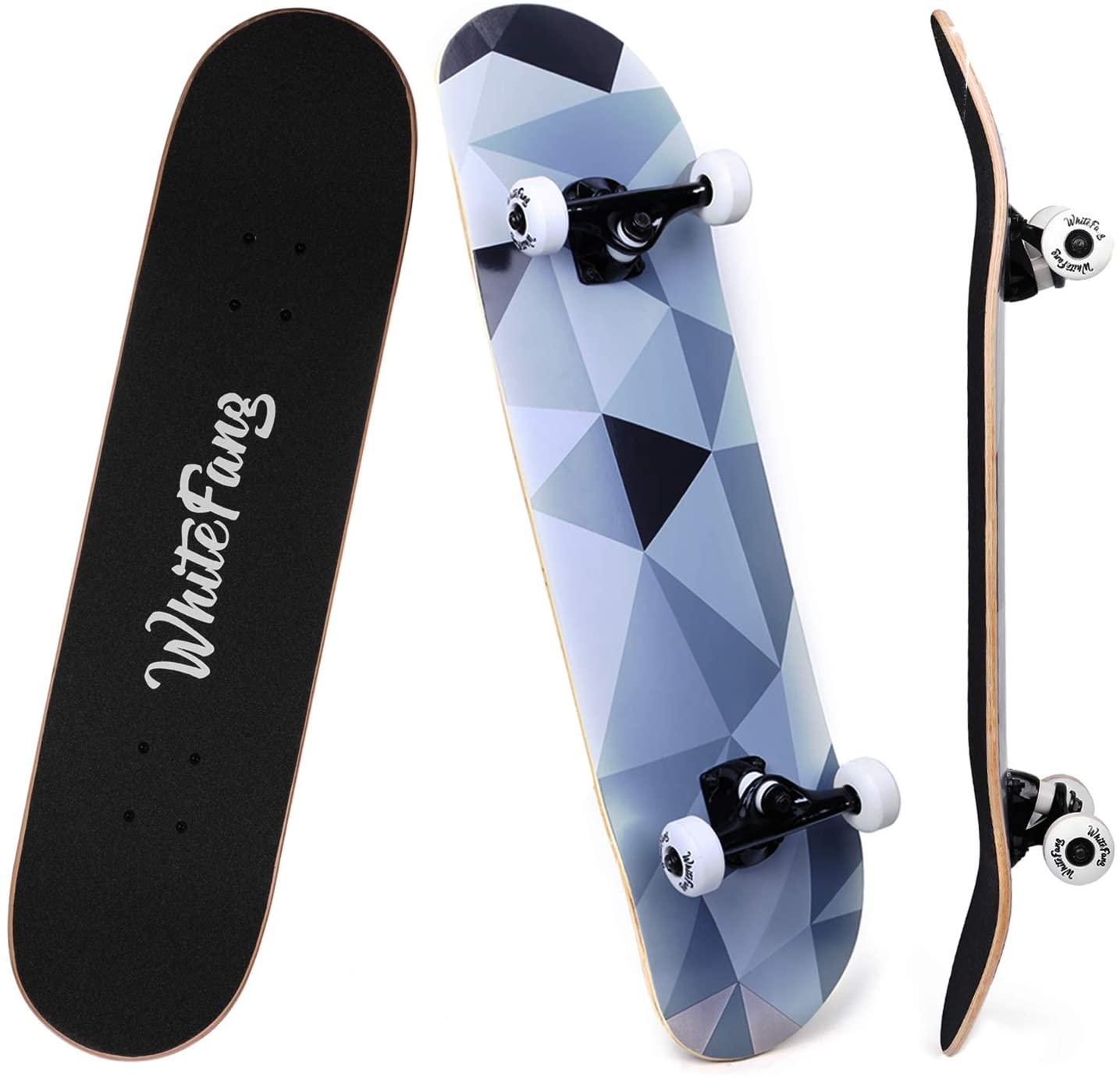 WhiteFang Complete Skateboards
