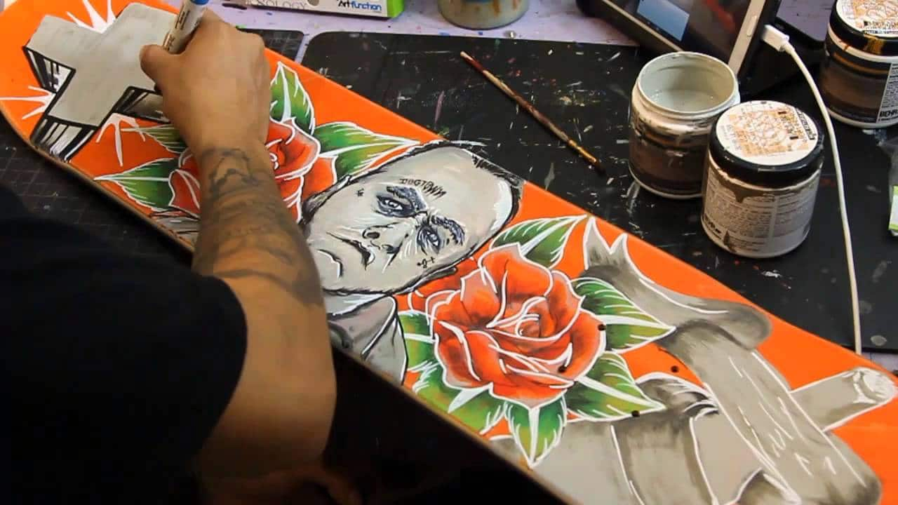 hand Painting board