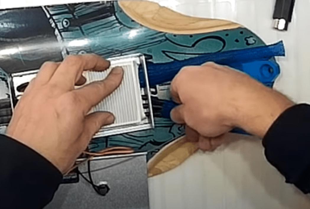 make electric skateboard