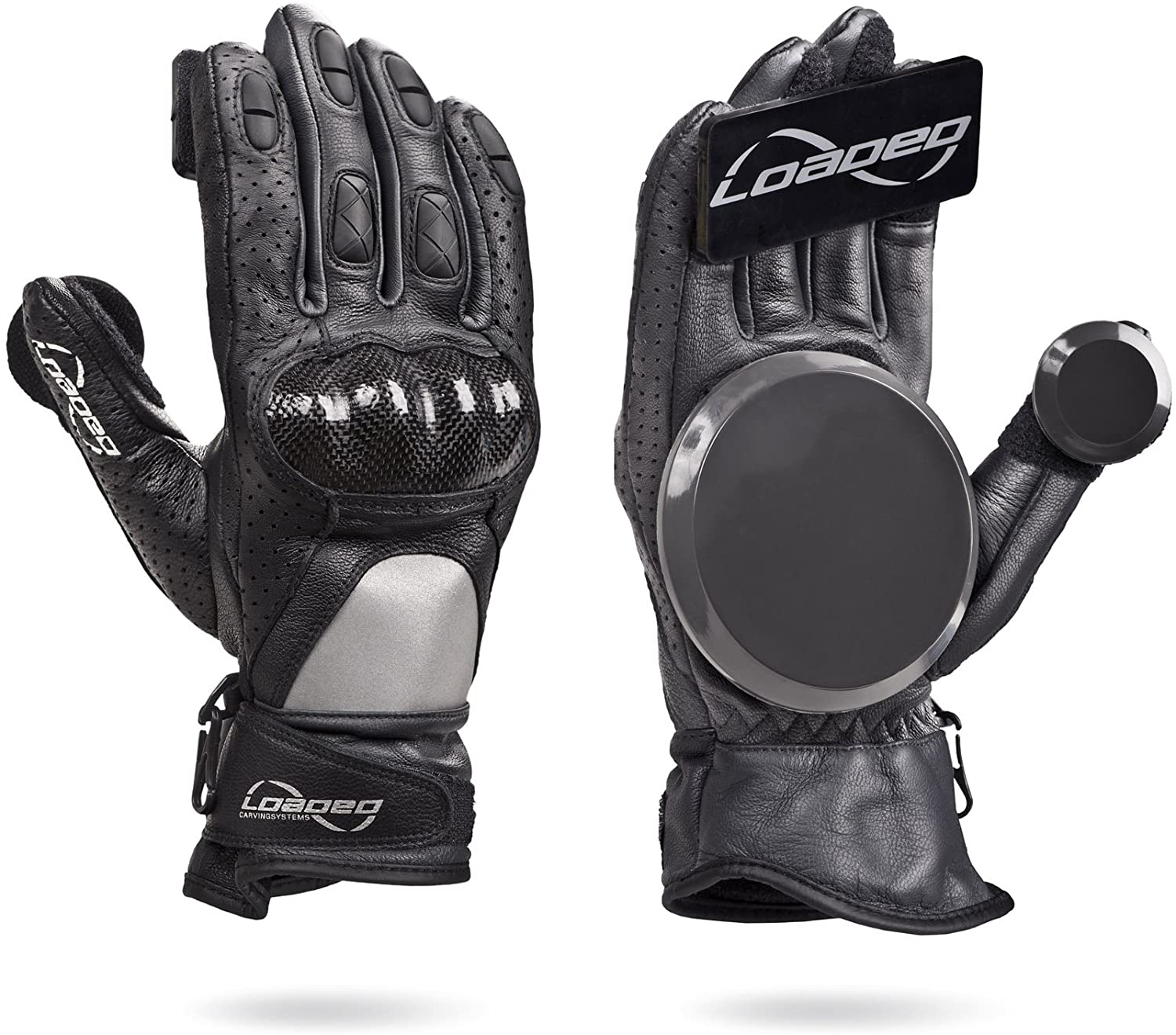 Loaded Boards Leather Downhill Slide Glove