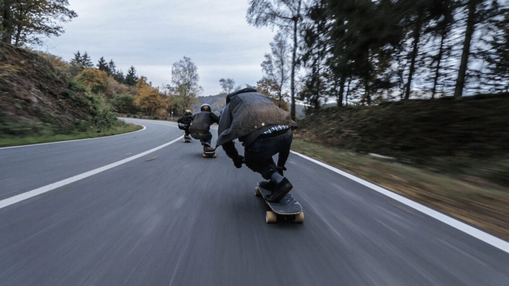 Riding Downhill